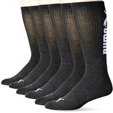 Puma Socks Men's Logo Crew Socks (Pack of 6)