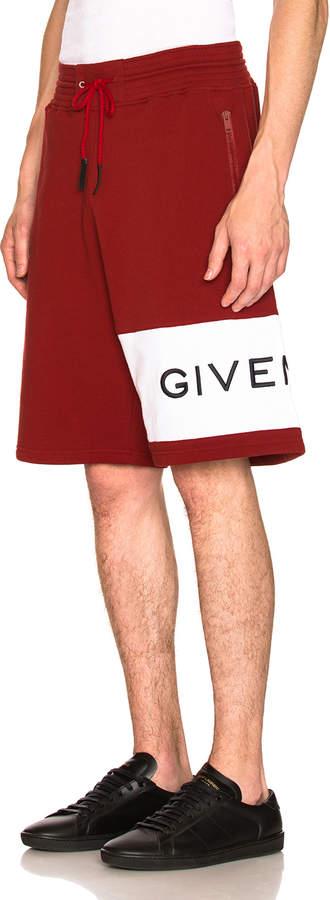 Givenchy Logo Sweatshorts
