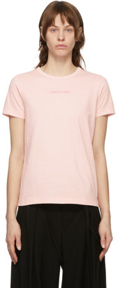 Juun.J Pink Embroidered T-Shirt