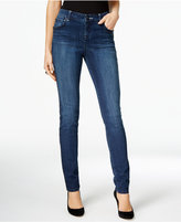 INC International Concepts Embellished Beautiful Wash Skinny Jeans, Only at Macy's