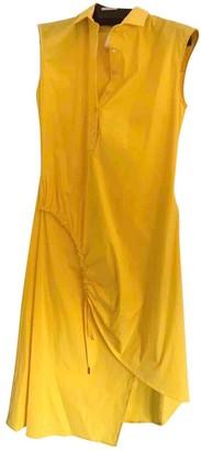 Christian Dior Yellow Cotton Dress for Women