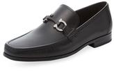 Salvatore Ferragamo Grandioso Leather Horsebit Loafer