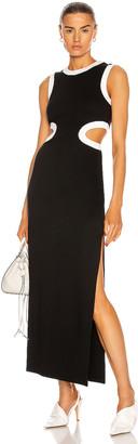 STAUD Dolce Dress in Black | FWRD