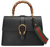 Gucci Large Dionysus Top Handle Leather Shoulder Bag - None