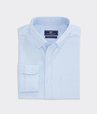 Vineyard Vines Big & Tall Classic Fit End-On-End Murray Button-Down Shirt
