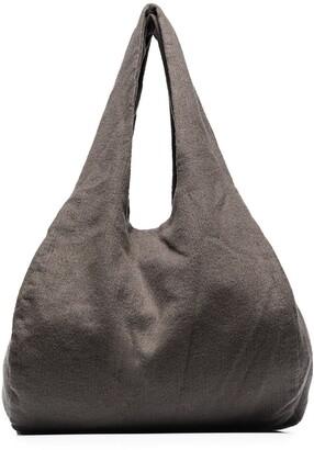 LAUREN MANOOGIAN Wool Tote Bag