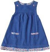 Jo-Jo JoJo Maman Bebe Pinafore Dress (Baby) - Blue-6-12 Months