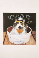 Urban Outfitters 2017 Cats In Sweaters Wall Calendar