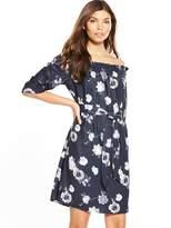 Selected Rosanna 3/4 Off Shoulder Dress