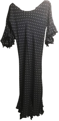 STEPHAN JANSON Purple Silk Dress for Women