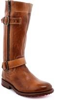 Bed Stu Leather Lug Moto Boots - Gogo