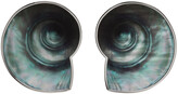 Thumbnail for your product : Jean Paul Gaultier SSENSE Exclusive Silver Marvin M'Toumo Edition Coquillage Earrings