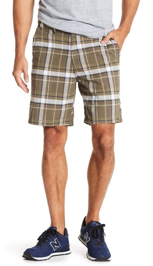 Joe Fresh Oxford Plaid Print Shorts