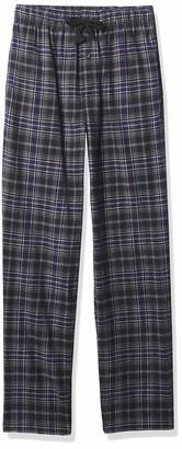 Fruit of the Loom Men's Yarn-Dye Woven Flannel Pajama Pant
