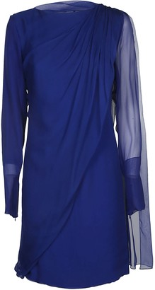 Lanvin Long-sleeved Mid-length Dress