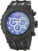 Invicta Men's 0508 Reserve Collection Specialty Chronograph Black Polyurethane Watch