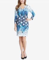Karen Kane Seascape Printed Sheath Dress