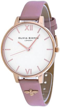 Olivia Burton Women's Vegan Rose Watch