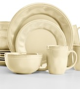 Rachael Ray Cucina Almond Cream 16-Pc. Set, Service for 4