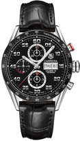 TAG Heuer Men's Swiss Automatic Chronograph Carrera Calibre 16 Stainless Steel Bracelet Watch 43mm CV2A1R.FC6235