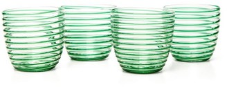 Yali Glass - Set Of Four Goto Tumblers - Green