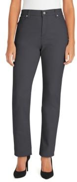 Gloria Vanderbilt Petite Amanda Straight-Leg Jeans, in Petite and Petite Short