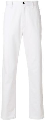Fendi Embellished Straight Leg Jeans