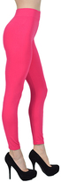 Hot Pink High-Waist Leggings