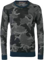 Michael Kors camouflage print jumper