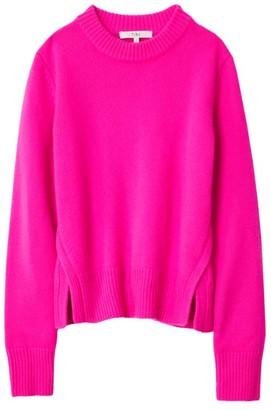 Tibi Cashmere Crewneck Sweater