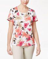 Karen Scott Print Top Only at Macy's