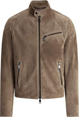 Thumbnail for your product : Ralph Lauren Randall Suede Biker Jacket