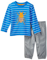 Little Me Beetle 2-Piece Graphic Set (Baby Boys)