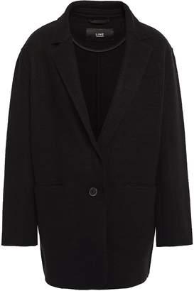Line Wool-blend Boucle Coat