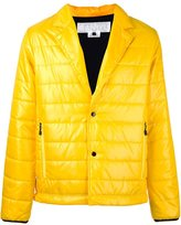 Comme des Garcons notch lapel padded jacket - men - Polyester - L