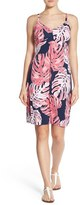 Tommy Bahama Women's 'Pop Art Palms' Empire Waist A-Line Dress
