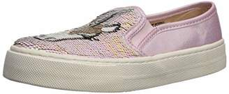 Children's Place The Girls' Sequence Slip On Sneaker