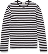 Acne Studios - Slim-fit Striped Cotton-jersey T-shirt