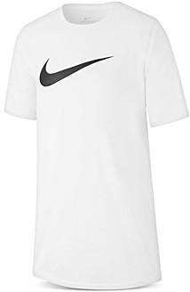 Nike Unisex Dri-fit Swoosh Tee - Big Kid