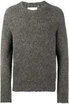 Etro knitted crew neck sweater - men - Nylon/Wool/Alpaca - S