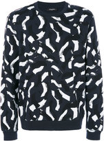 Calvin Klein brush stroke sweatshirt