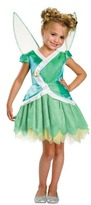 Tinkerbell Child Disney Secret Of The Wings Classic Costume