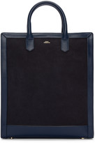 A.P.C. Navy Gisele Tote