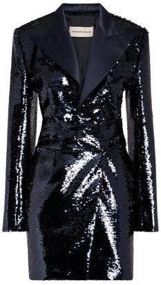 Alexandre Vauthier Sequin-Embellished Blazer Dress