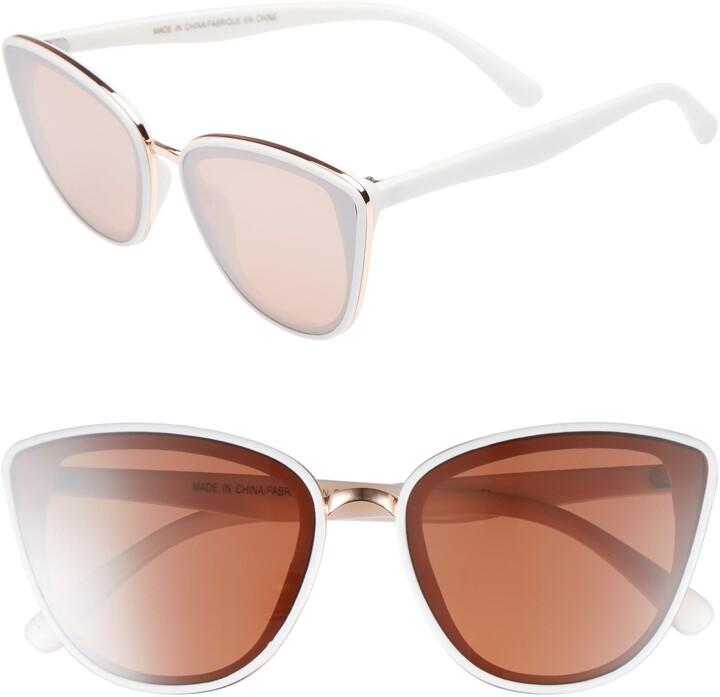 BP 59mm Perfect Cat Eye Sunglasses