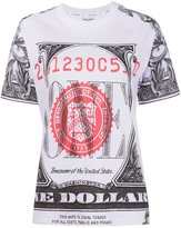Opening Ceremony one dollar bill print T-shirt