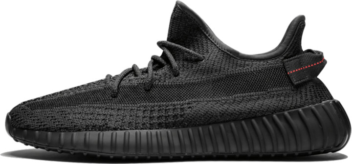 Adidas Yeezy Boost 350 V2 Reflective 'Black - Static' Shoes - Size 4