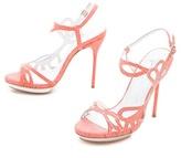 Alice + Olivia Phoebe Cutout Sandals