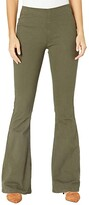Thumbnail for your product : Rock and Roll Cowgirl High-Rise Pull-On Flare in Olive Green W1P6157
