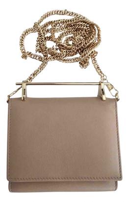 M2Malletier Beige Leather Handbags